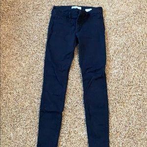 Black Abercrombie Skinny Jeans